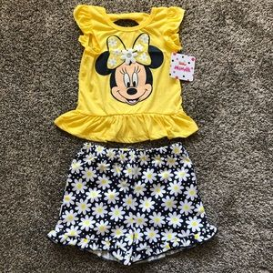 Disney Minnie Mouse Toddler Girl Daisy Outfit